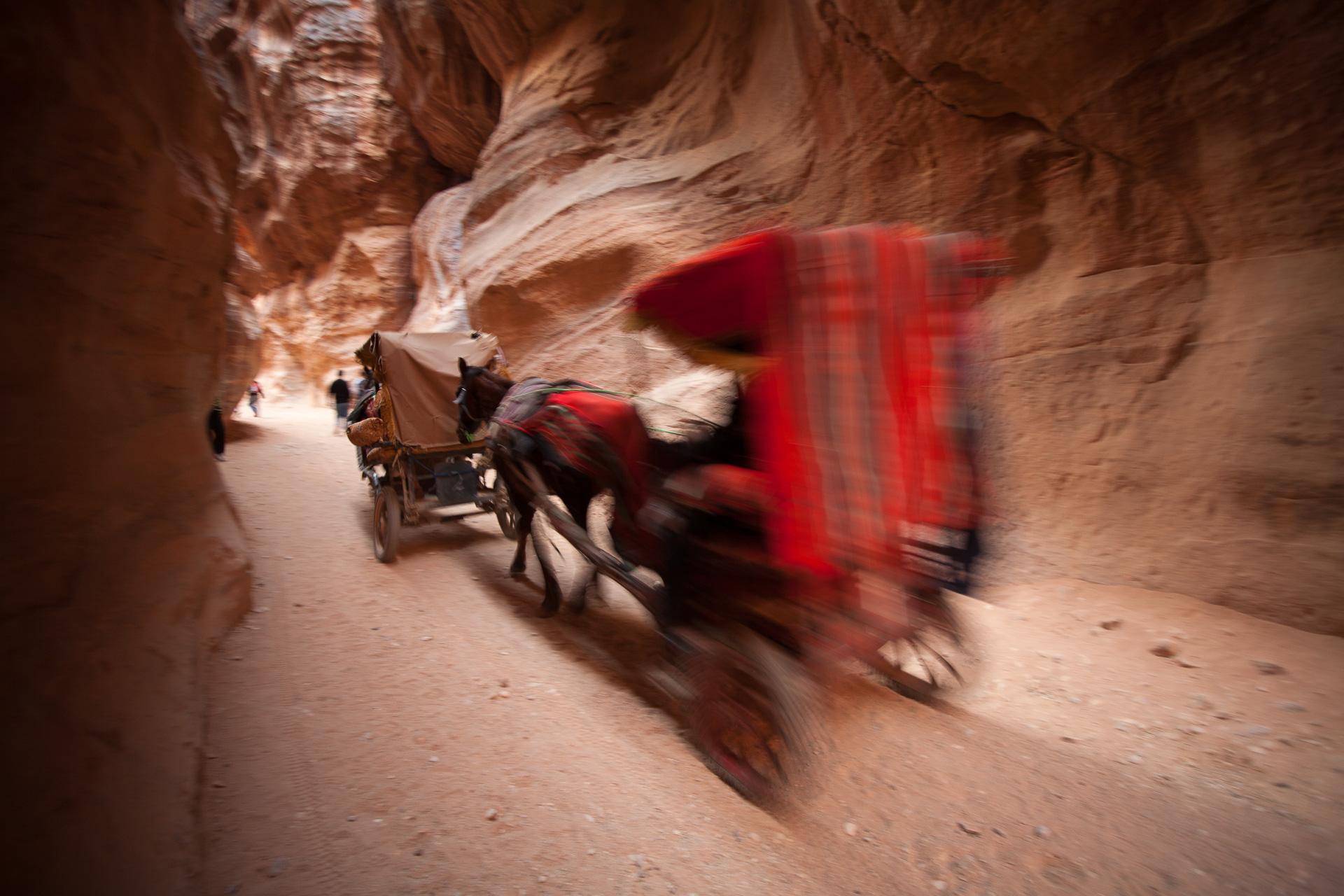 ville nabatéenne de Petra en Jordanie