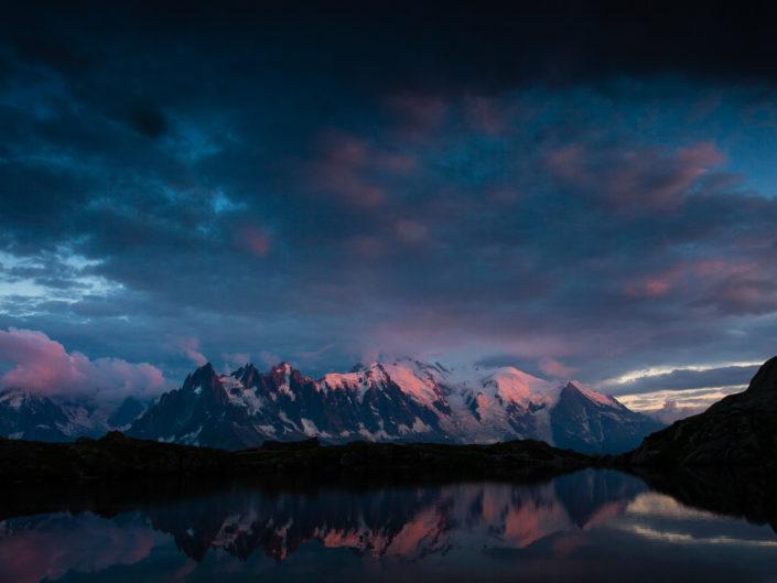 Un balcon sur le Mont Blanc