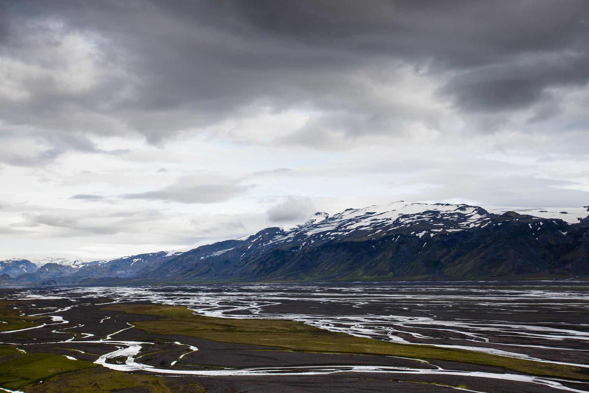 paysage de l'Eyjafjallajökull en Islande