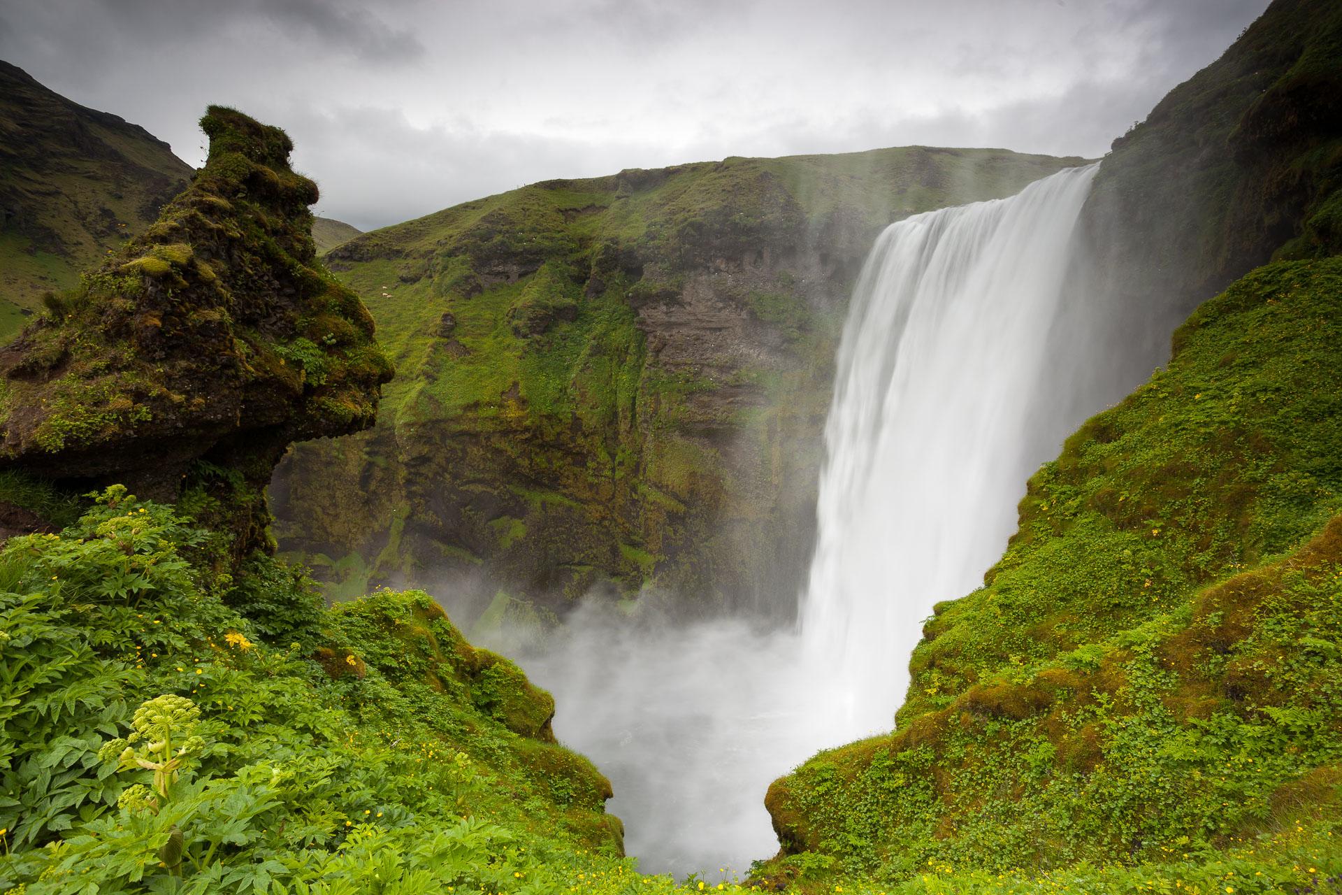 Skogafoss en Islande