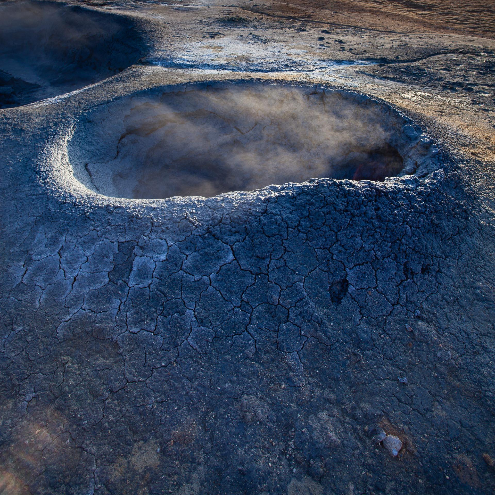 Solfatare de Hverarönd en islande