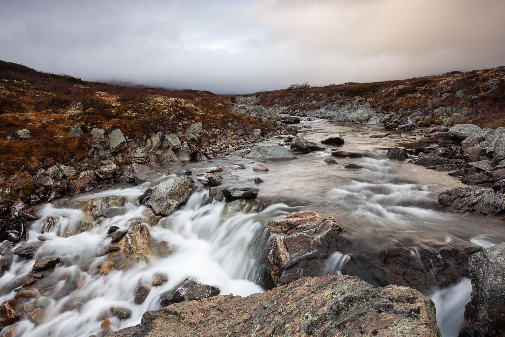 rivière Kaldvela, dans le Dovrefjell