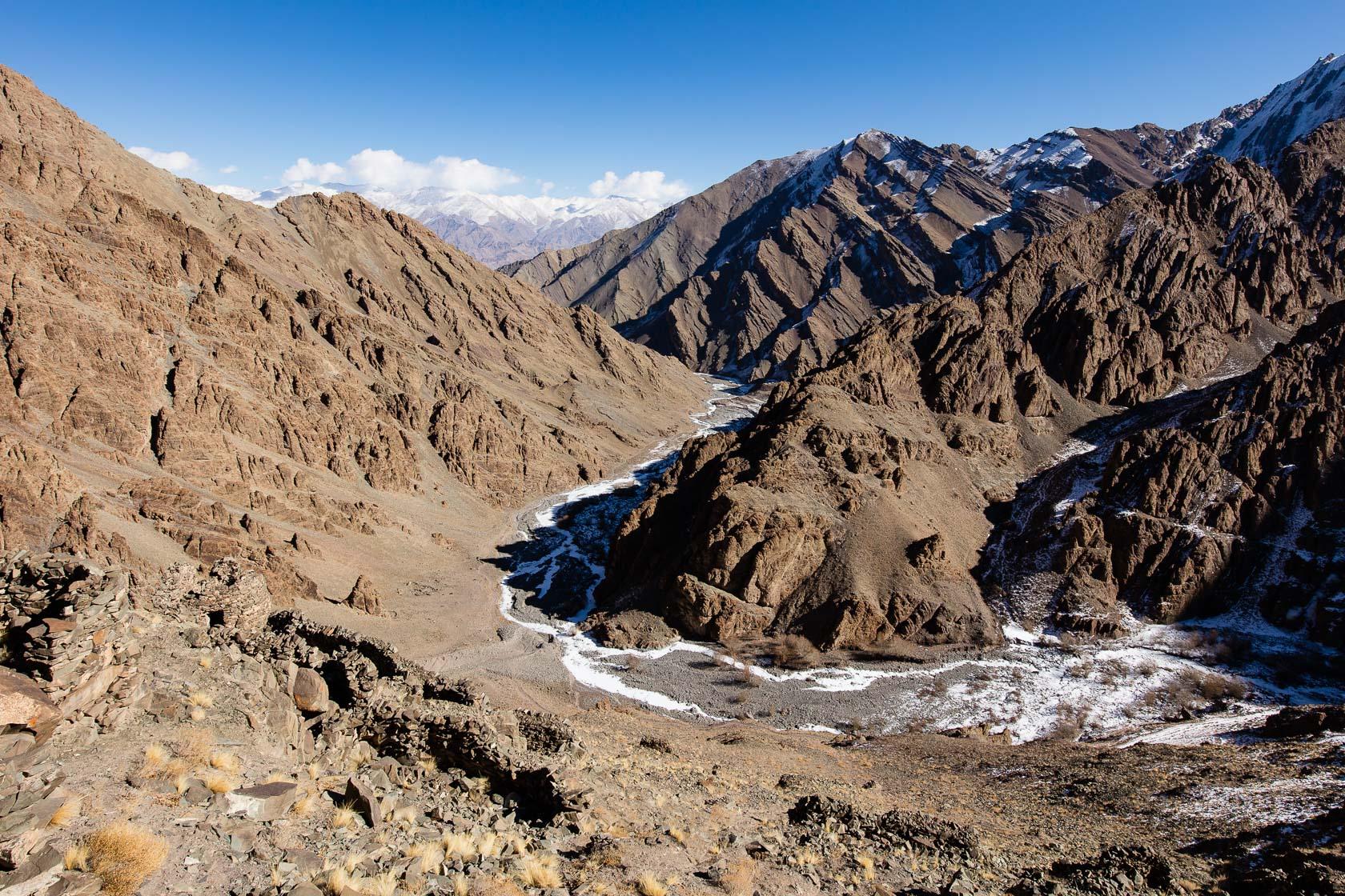 Vallée de Stok, au Ladakh, en Inde