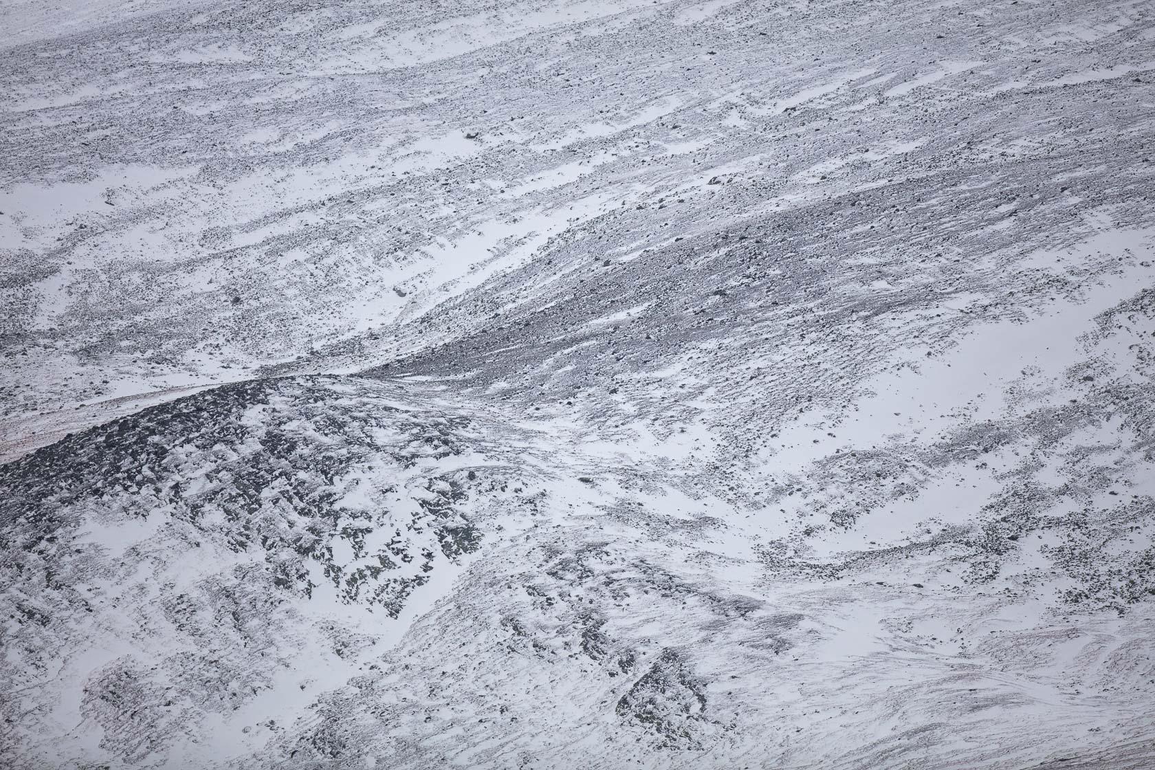 pente de montagne dans le parc de Dovrefjell