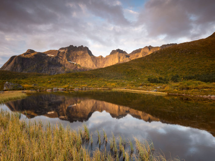 Lumières d'automne dans les Lofoten