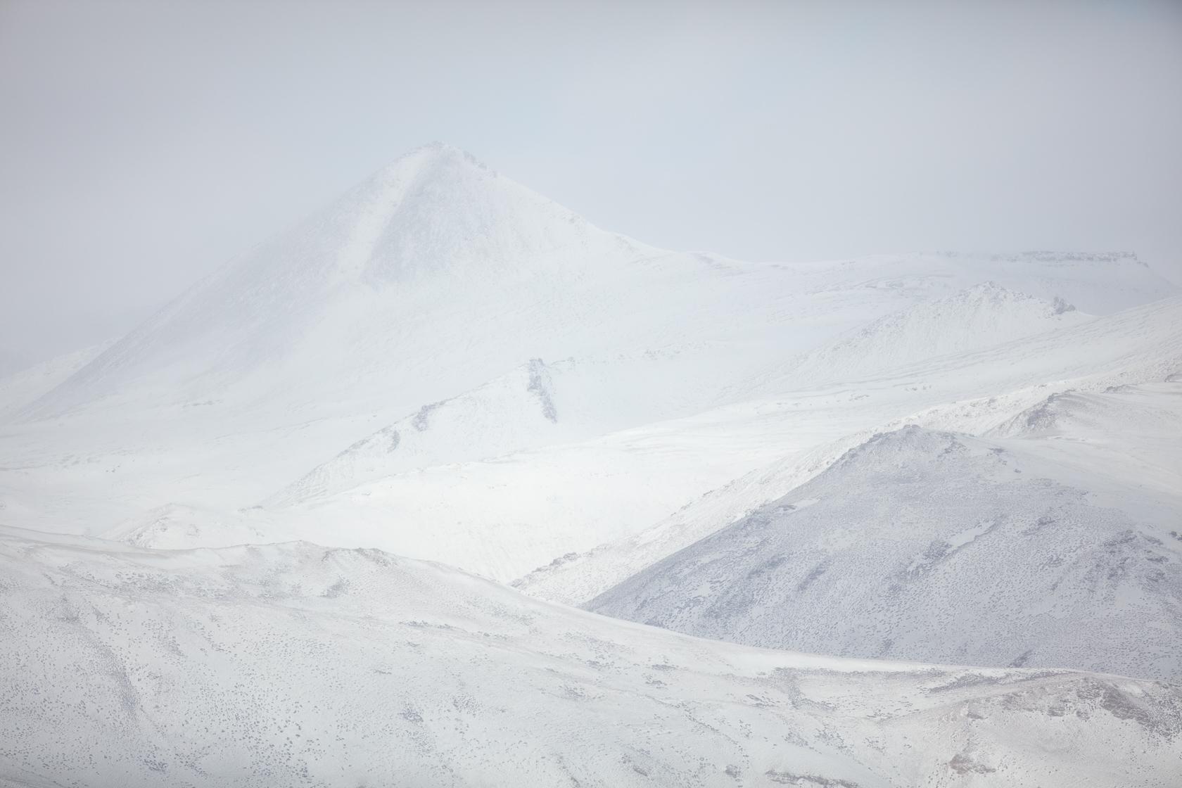 montagnes enneigées du Chang Tang, au ladakh