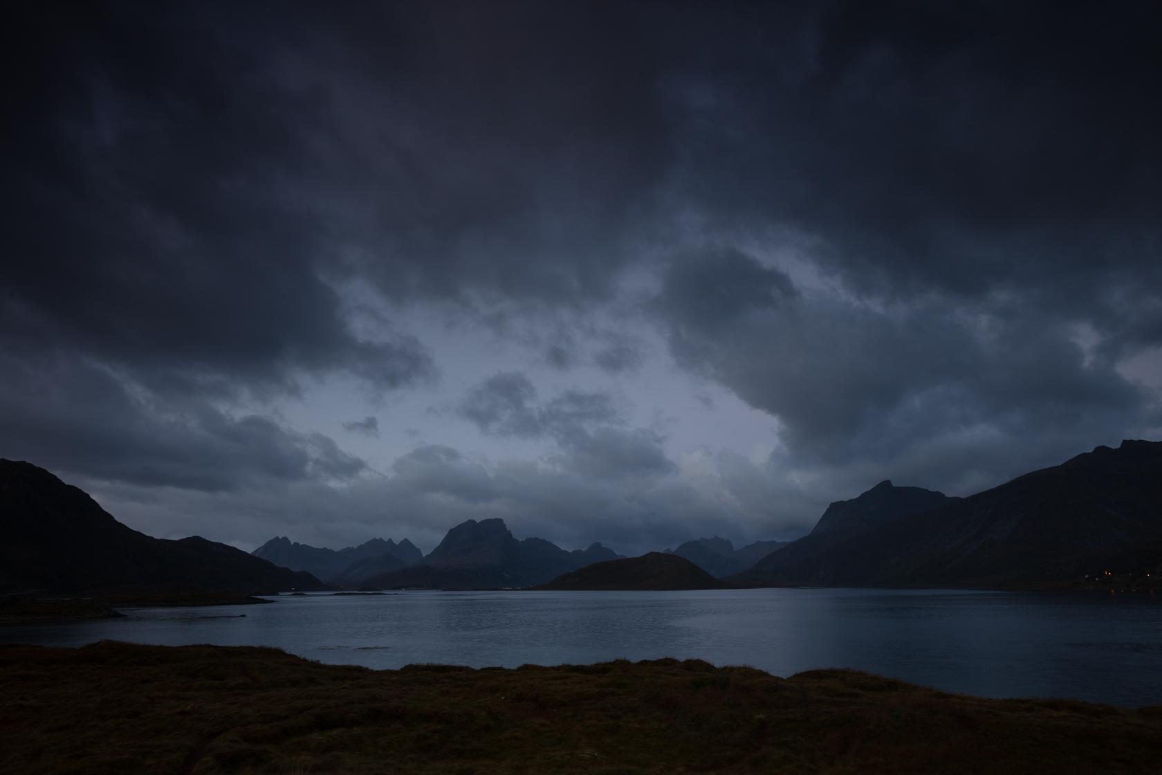 paysage de Moskenesøya, pendant un voyage photo dans les îles Lofoten, en Norvège