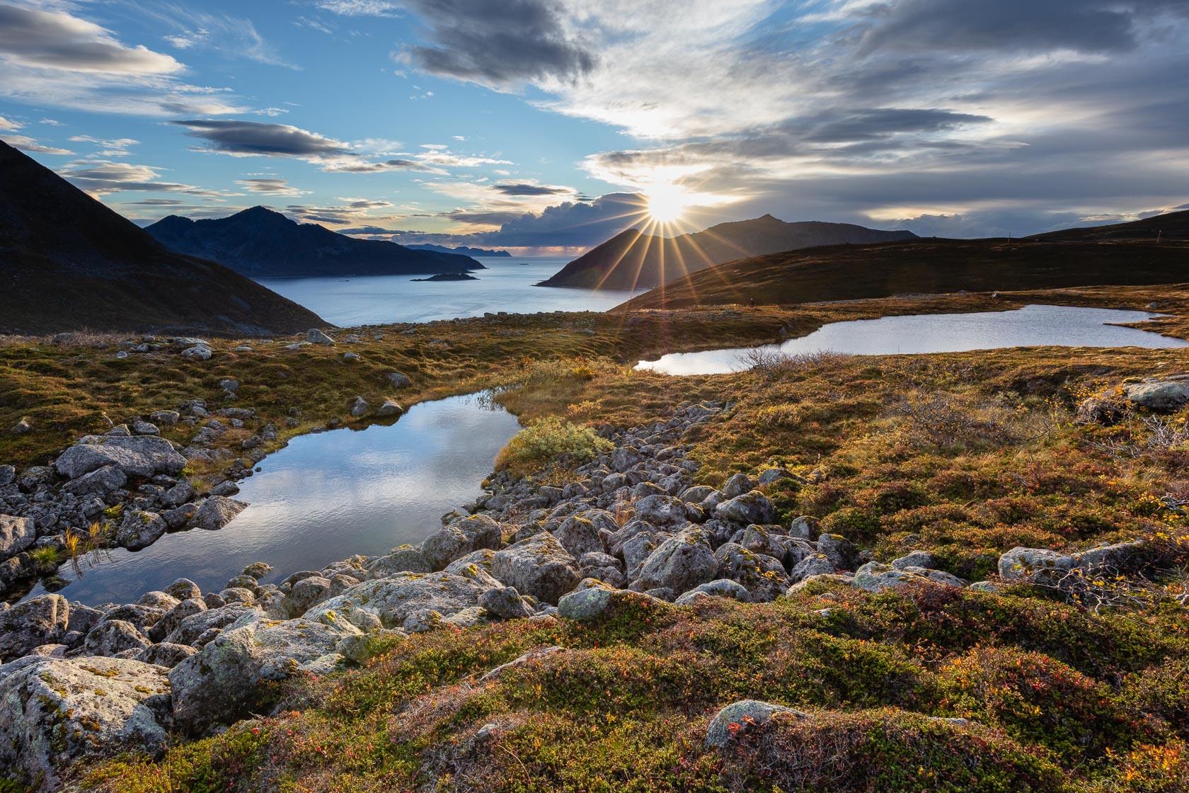 îles de Kvaløya et de Senja dans la région de Tromsø, en Norvège