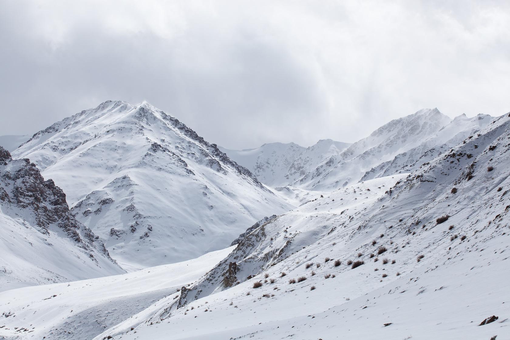 hautes montagnes de l'Himalaya, au ladakh en Inde