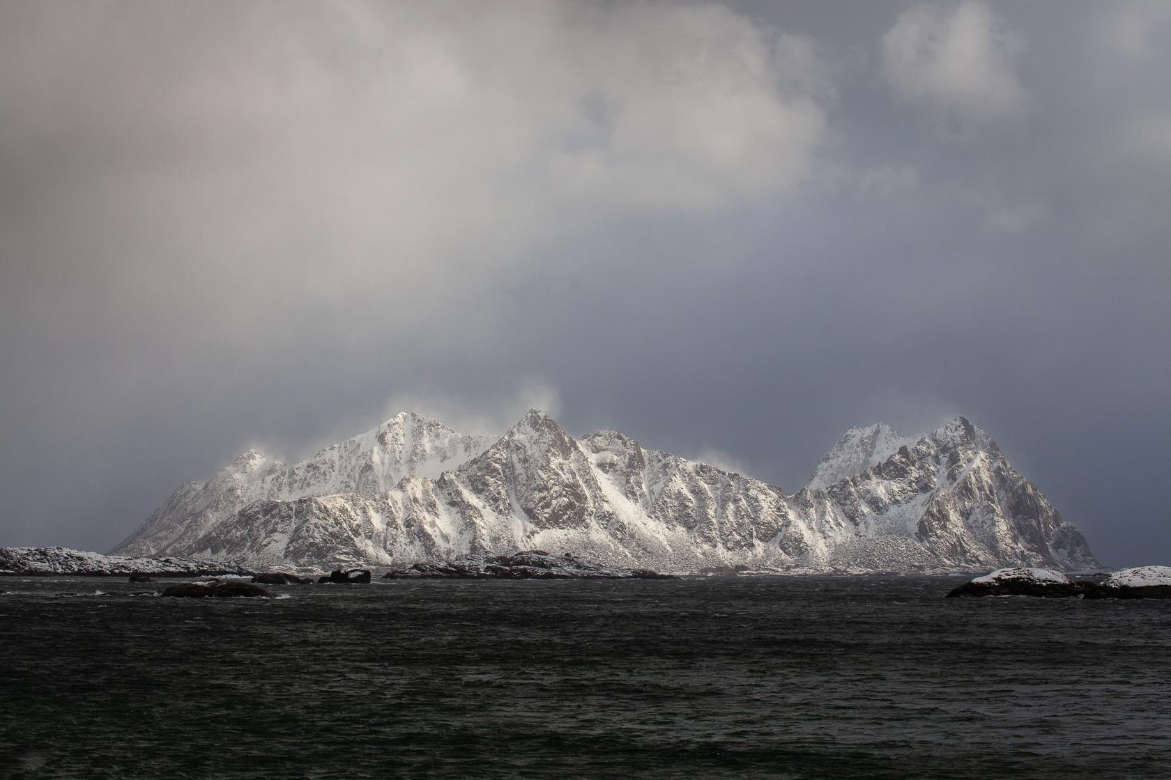 île de Skrova, dans les Lofoten, en Norvège