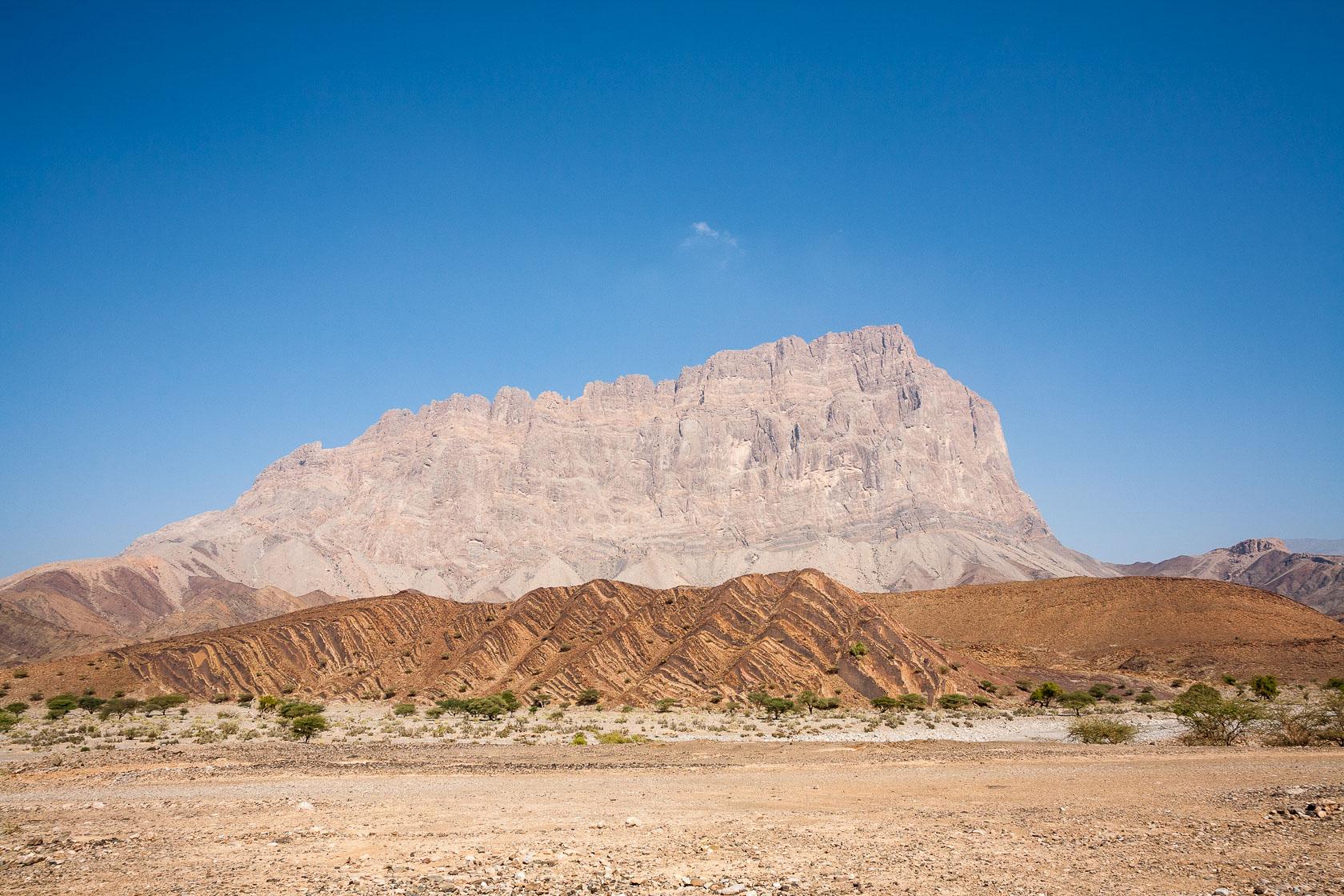 Djebel Misht au Sultanat d'Oman