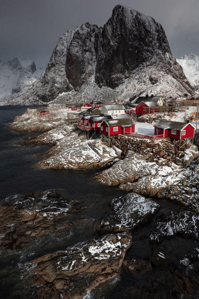 les robres d'hamnoy en voyage photo aux Lofoten