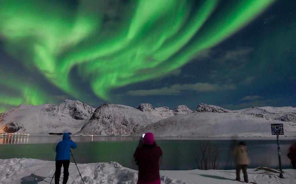 voyage photo aurore boréale aux Lofoten